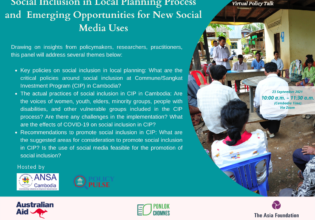Social Inclusion in Local Planning Process and Emerging Opportunities for New Social Media Uses